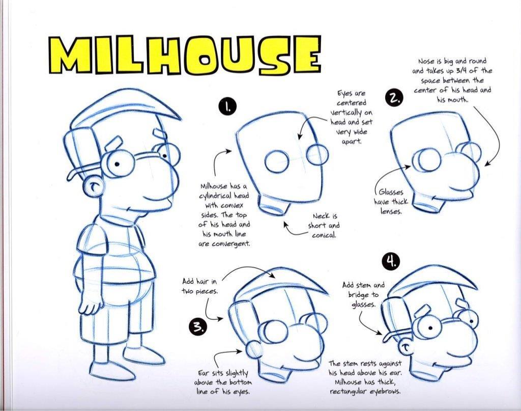 spesso I consigli di Matt Groening per disegnare i Simpson | MondoFox XP12