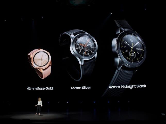 Presentazione del Galaxy Watch