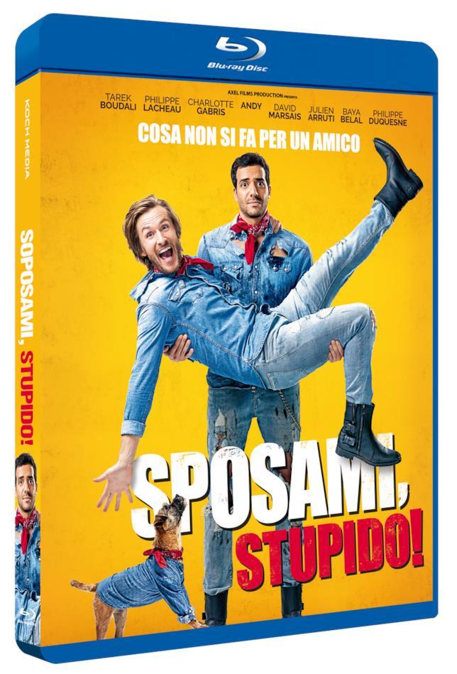 La copertina del blu-ray di Sposami, Stupido!