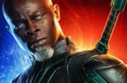 Djimon Hounsou nei panni di Korath nel character poster di Captain Marvel