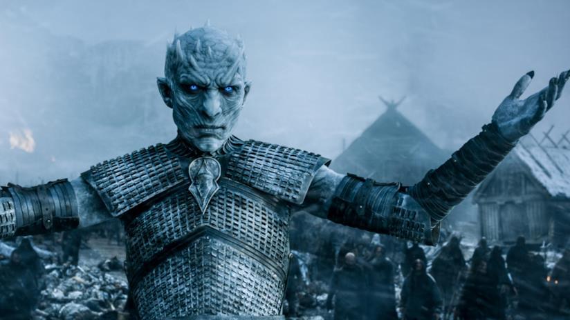 Un'immagine del Re della Notte di Game of Thrones