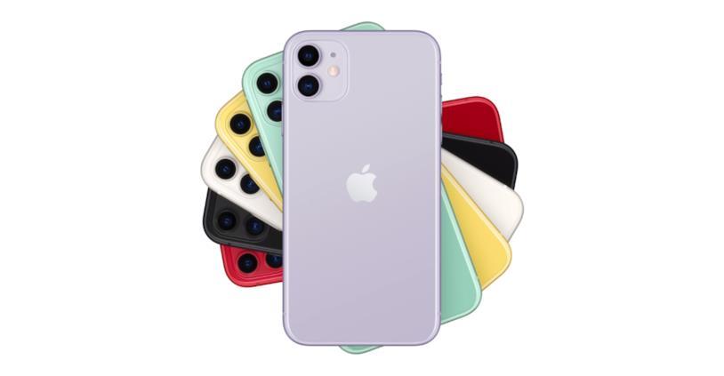 Immagine promozione di iPhone 11