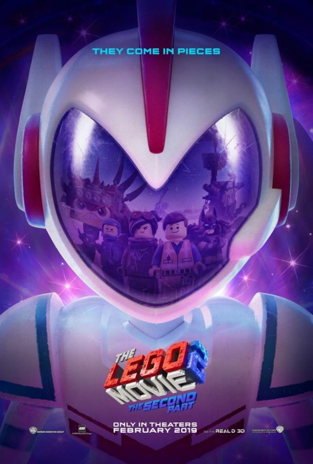 Il teaser poster di The LEGO Movie 2