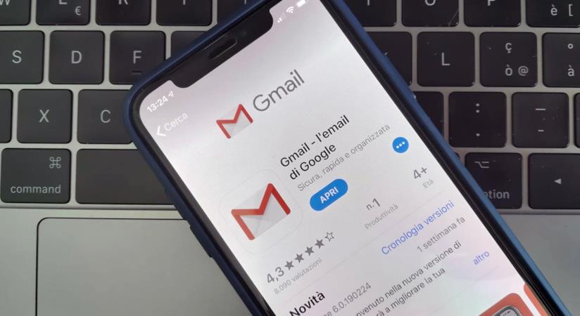 L'app Gmail su App Store di Apple