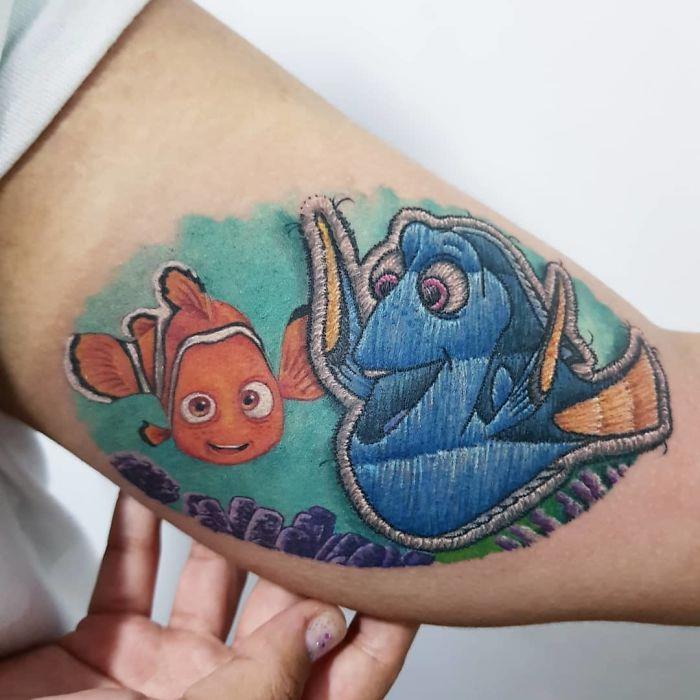 Nemo e Dory