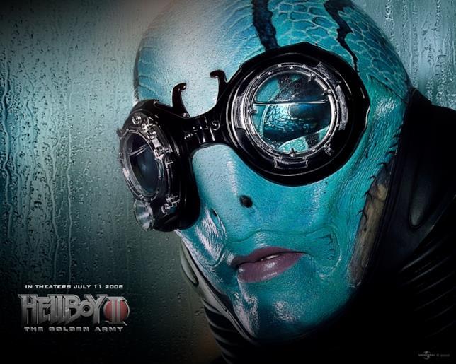 """Doug Jones è Abraham """"Abe"""" Sapien in Hellboy: The Golden Army"""