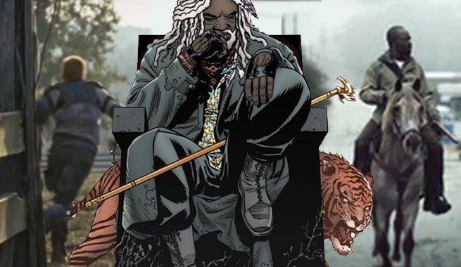 Ezekiel nel fumetto di The Walking Dead