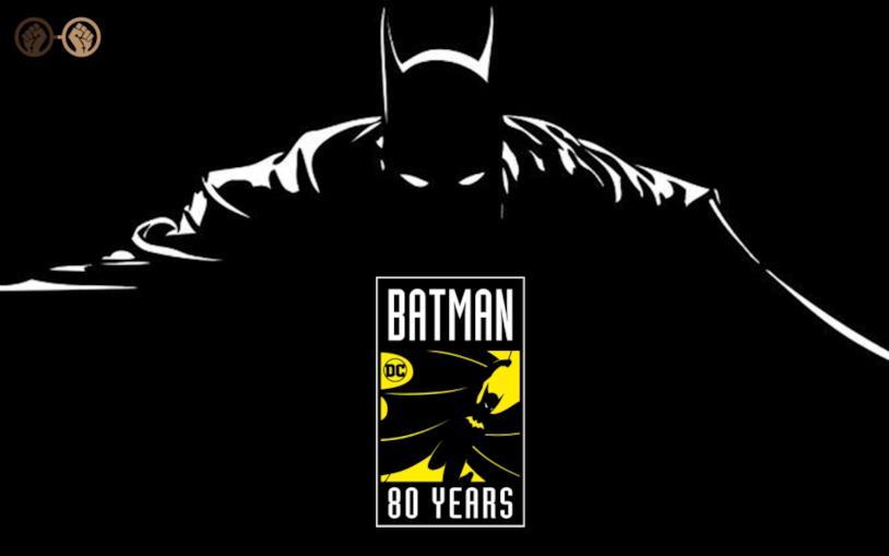 Batman DC 80 anni
