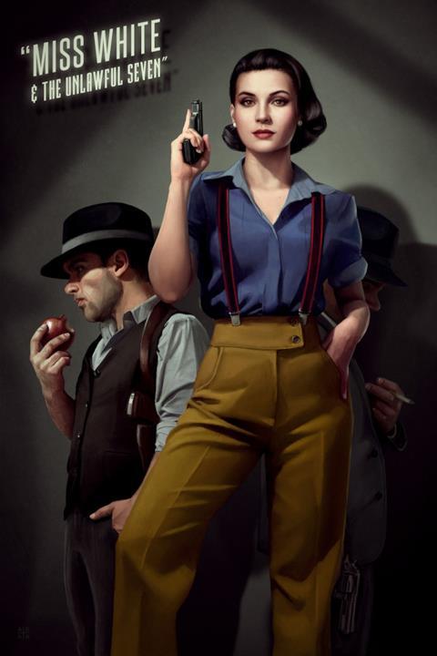 Biancaneve in versione film noir