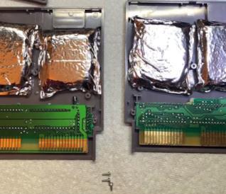 Pacchetti di droga nelle cartucce NES