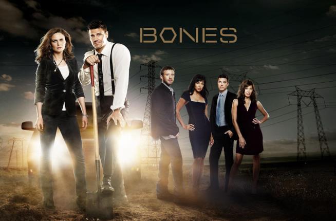 Il ciak usato nell'ultimo episodio in assoluto di Bones