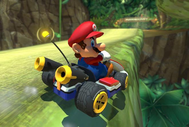 Un'immagine promozionale di Mario Kart Tour