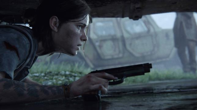 Ellie in The Last of Us - Part II
