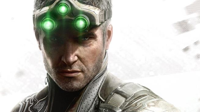 Primo piano per Sam Fisher, protagonista della serie Splinter Cell