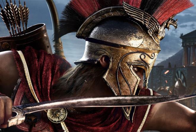 Alexios in un concept art di Assassin's Creed Odyssey