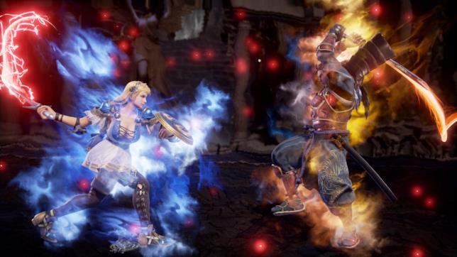 Sophitia e Mitsurugi da Soul Calibur VI