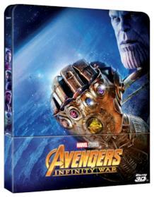 Avengers: Infinity War, ecco la steelbook del film dei Russo
