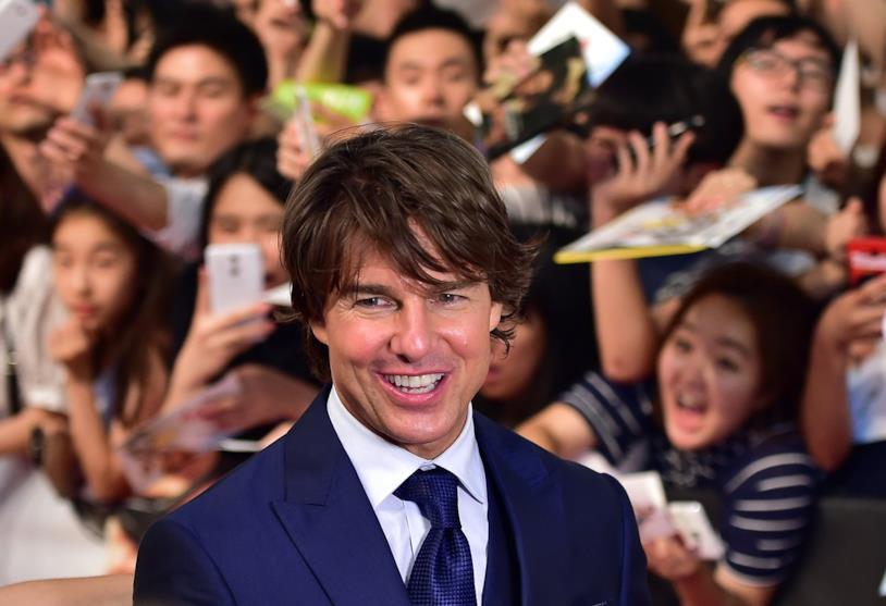 Tom Cruise alla prima giapponese di Mission Impossible