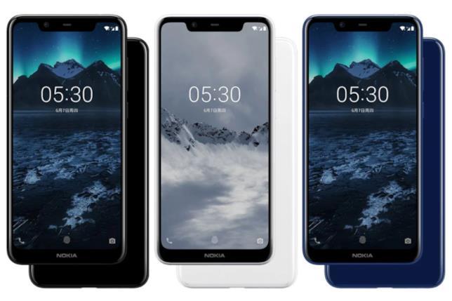 Il Nokia X5 è disponibile in tre colorazioni
