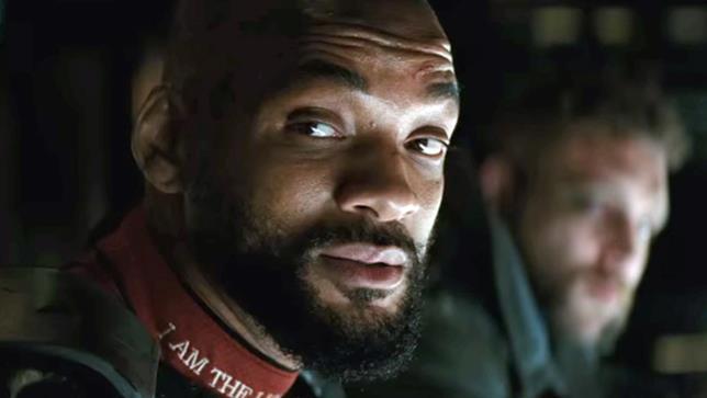 Will Smith nel film Suicide Squad