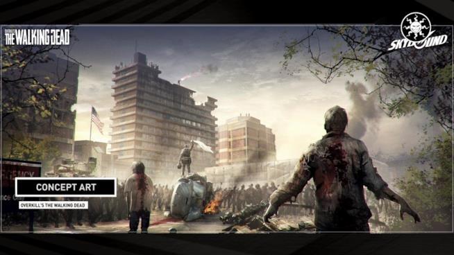 Overkill's The Walking Dead debutterà nel 2018 su PC e console