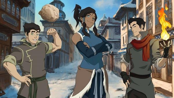 La Leggenda di Korra, serie animata
