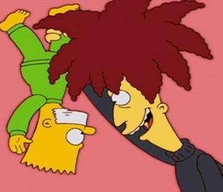 I Simpson: Telespalla Bob e Bart
