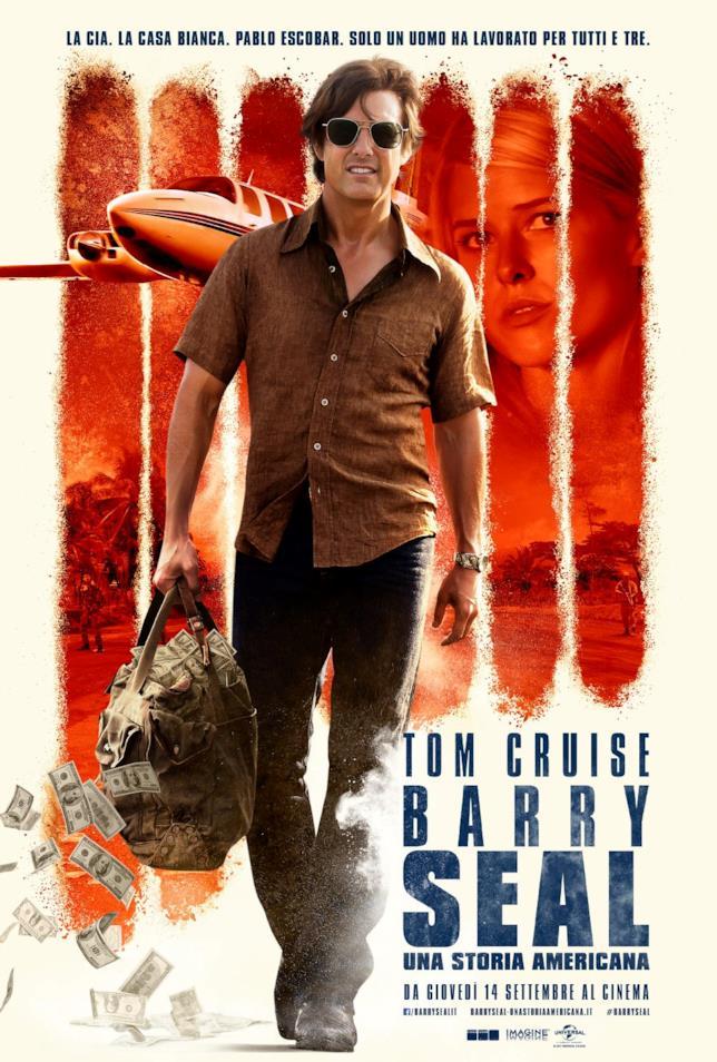 Il poster ufficiale di Barry Seal - Una storia americana