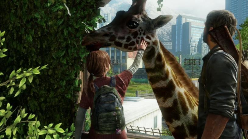 Un'immagine di Joel e Ellie in The Last of Us