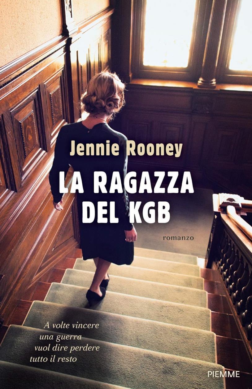 La copertina di La ragazza del KGB