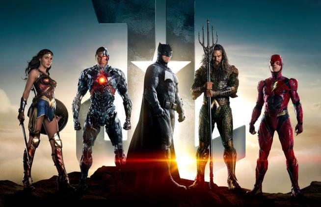 Locandina del nuovo film Justice League