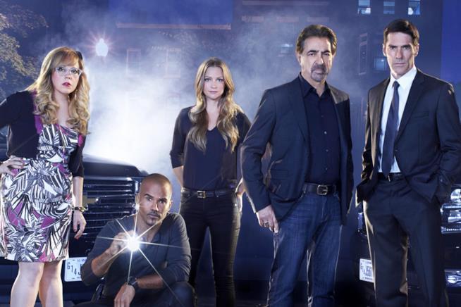 Il cast di Criminal Minds in uno scatto promozionale