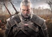 Geralt in un concept art di The Witcher 3