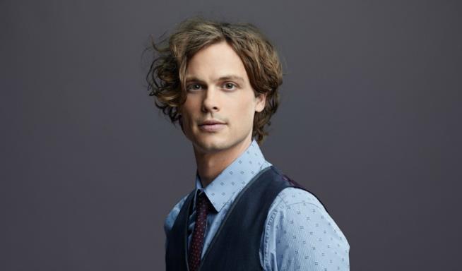 Spencer Reid di Criminal Minds in una foto promozionale