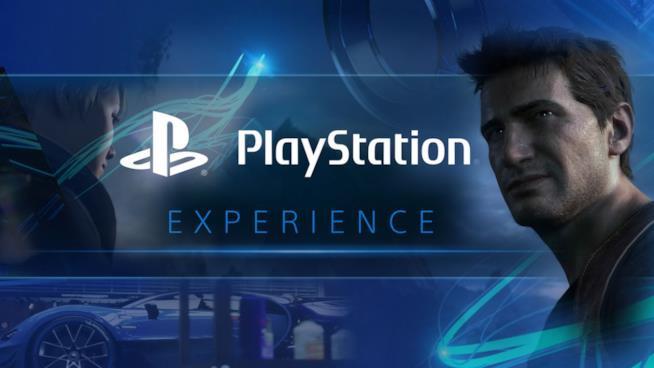 Il ghigno di Nathan Drake sulla locandina della PlayStation Experience