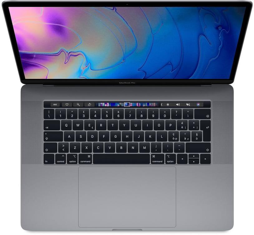 """Immagine stampa del MacBook Pro con TouchBar da 15"""""""