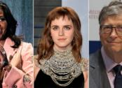 Michelle Obama, Bill Gates ed Emma Watson sono alcuni degli uomini e donne più ammirati del mondo