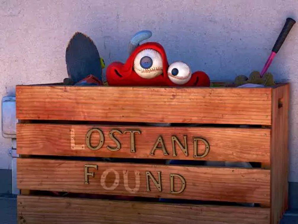 Lou nella scatola degli oggetti smarriti