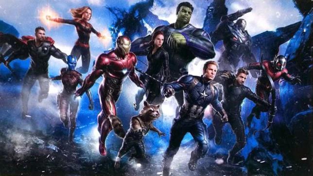Un artwork ufficiale del prossimo Avengers 4