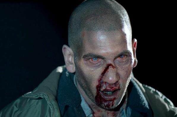 Shane Walsh in versione errante sul set di The Walking Dead