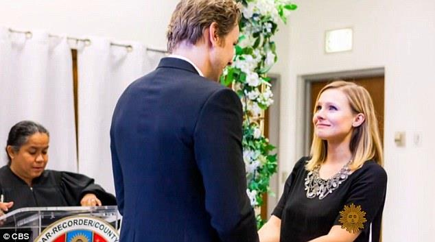 Il matrimonio tra Kristen Bell e Dax Shepard