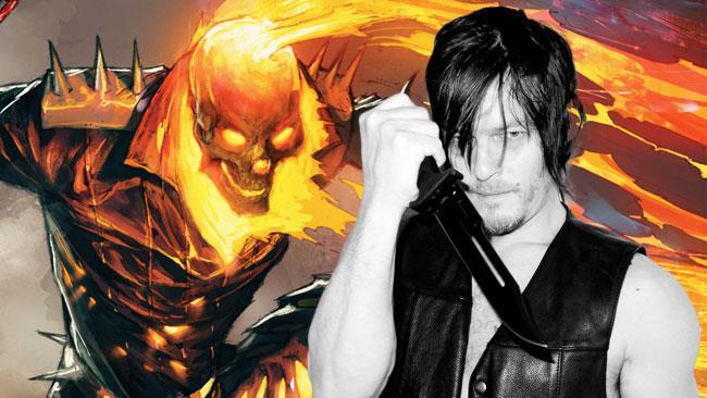 Ghost Rider e Norman Reedus nel ruolo di Daryl
