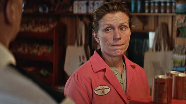 Mildred è la protagonista di Tre Manifesti