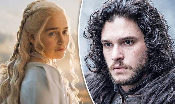 Game of Thrones: Danaerys Targaryen e Jon Snow
