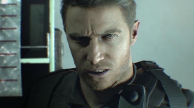Chris Redfield in Resident Evil 7