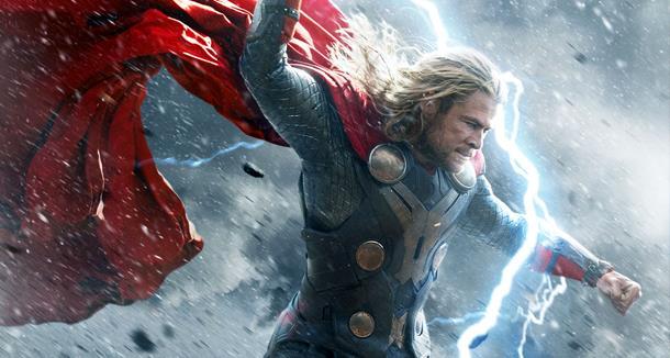 Un'immagine di Chris Hemsworth in Thor: Ragnarok