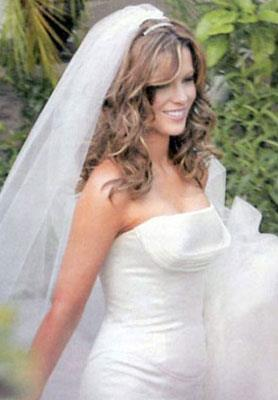 Kate Beckinsale vestita da sposa