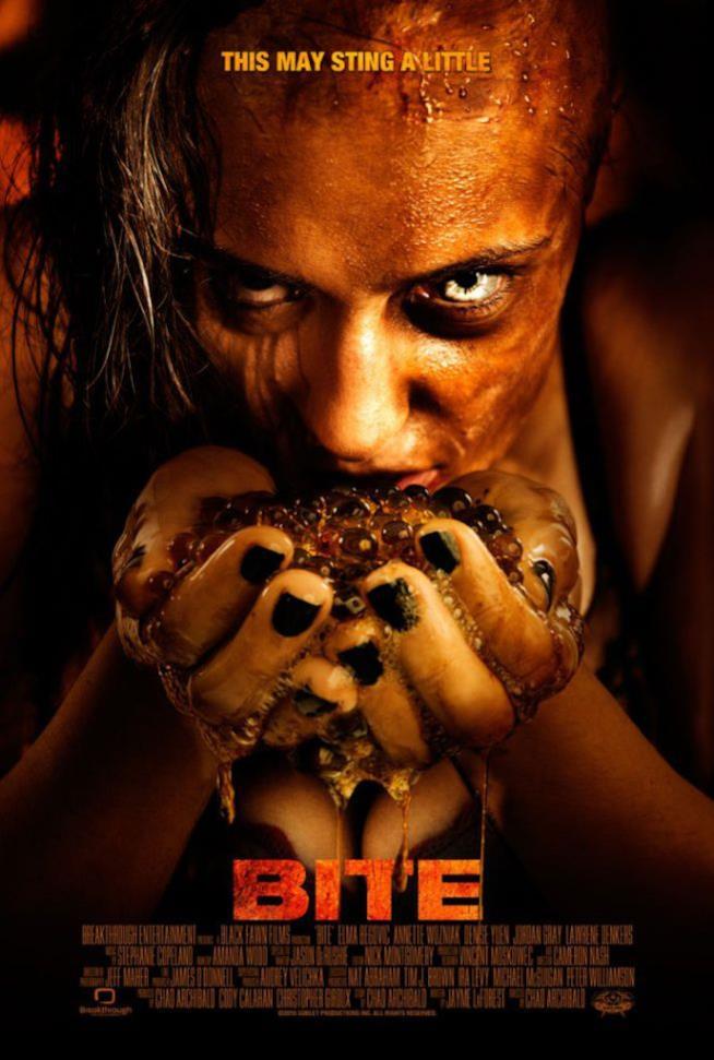 Poster dell'horror Bite