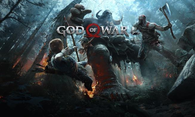 God of War in uscita il 20 aprile 2018