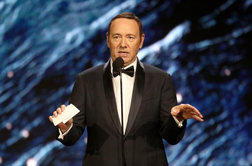 Kevin Spacey ai BAFTA 2017